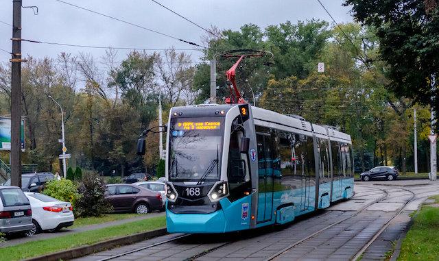 stadler харьков трамвай маршрут